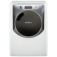 Buy Hotpoint Aqualtis AQ113D697E Washing Machine, 11kg Load, A+++ Energy Rating, 1600rpm Spin, White Online at johnlewis.com