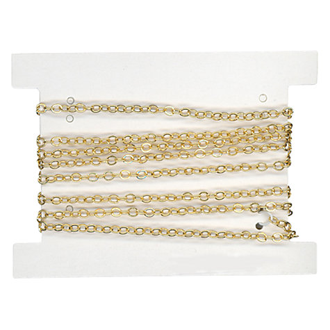 Buy John Lewis Fine Trace Jewellery Chain, 1m Online at johnlewis.com