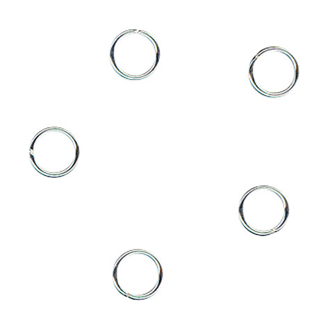 Buy John Lewis 5mm Jump Rings, Pack of 20, Sterling Silver Online at johnlewis.com