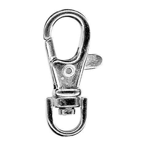Buy John Lewis Key Ring Trigger Clip, Pack of 2, Silver Online at johnlewis.com