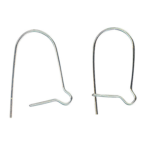 Buy John Lewis Kidney Earwires, Pack of 20, Silver Plated Online at johnlewis.com