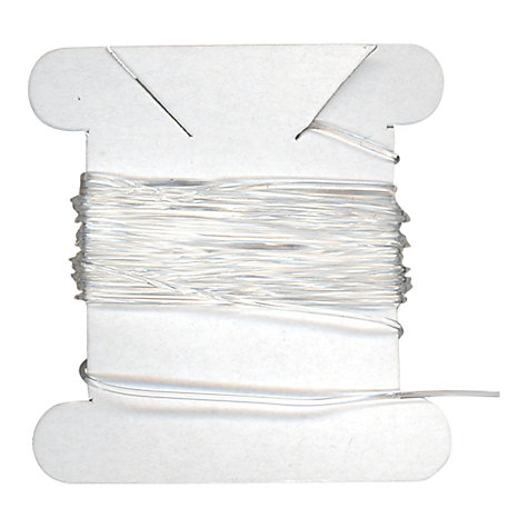 Buy John Lewis 0.5mm Elastic Bead Cord, 2m, Clear Online at johnlewis.com