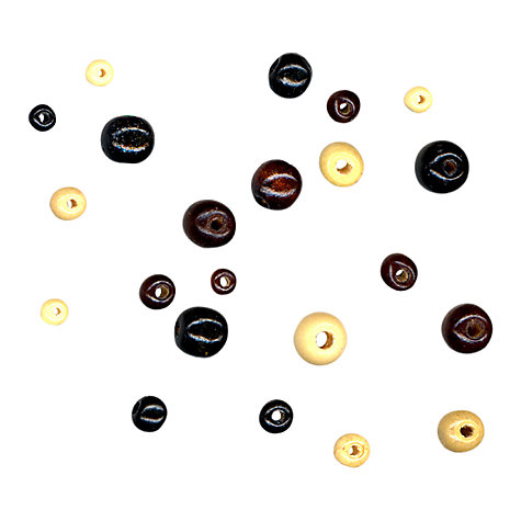 Buy John Lewis Assortment of Wooden Beads, 33g Online at johnlewis.com