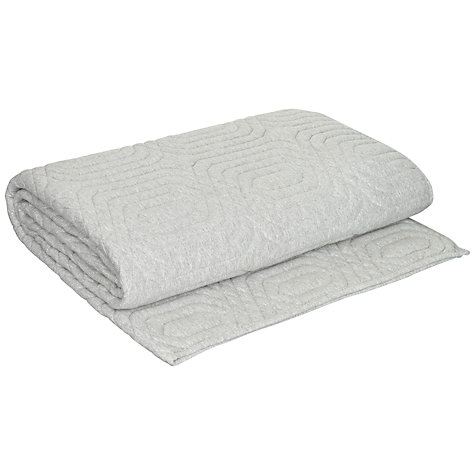 Buy House by John Lewis Vesa Throw, Grey Online at johnlewis.com