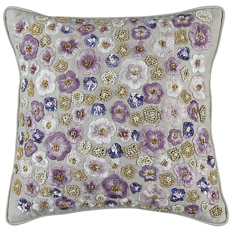 Buy John Lewis Loretta Sequin Cushion Online at johnlewis.com