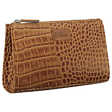 Buy OSPREY LONDON Belle Leather Large Make-Up Bag Online at johnlewis.com