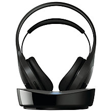 Buy Philips SHD8600/30 Full Size Wireless Headphones, Black Online at johnlewis.com
