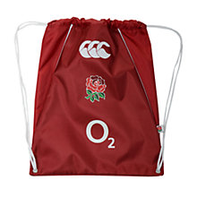 Buy Canterbury England Gymsack, Red Online at johnlewis.com