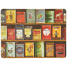 Buy Pimpernel Tins Placemats, Set of 6 Online at johnlewis.com