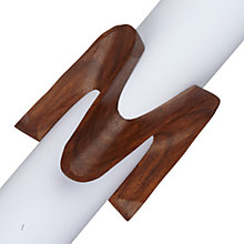 Buy John Lewis Wiggle Wood Napkin Ring, Set of 4 Online at johnlewis.com