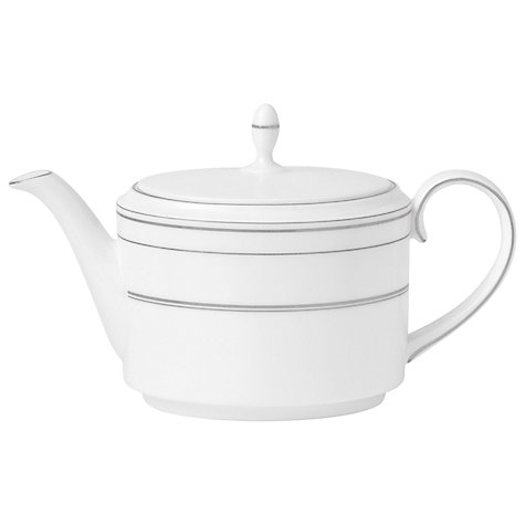 Buy Vera Wang for Wedgwood Radiante Teapot, 0.8L Online at johnlewis.com