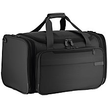 Buy Briggs & Riley Baseline Expandable Duffle, Black Online at johnlewis.com