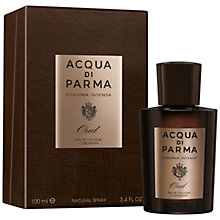 Buy Acqua di Parma Colonia Intensa Oud Eau de Cologne Concentrée, 100ml Online at johnlewis.com