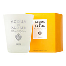 Buy Acqua di Parma Glass Candle Citrus, 270g Online at johnlewis.com