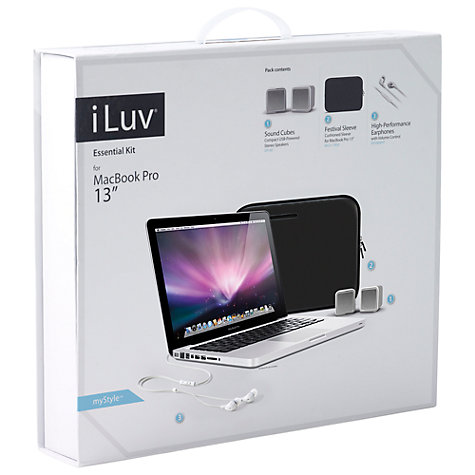 "Buy iLuv 13"" MacBook Pro Pack Online at johnlewis.com"