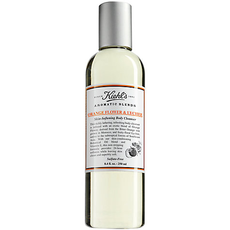 Buy Kiehl's Aromatic Blends - Orange Flower and Lychee Skin-Softening Body Cleanser, 250ml Online at johnlewis.com