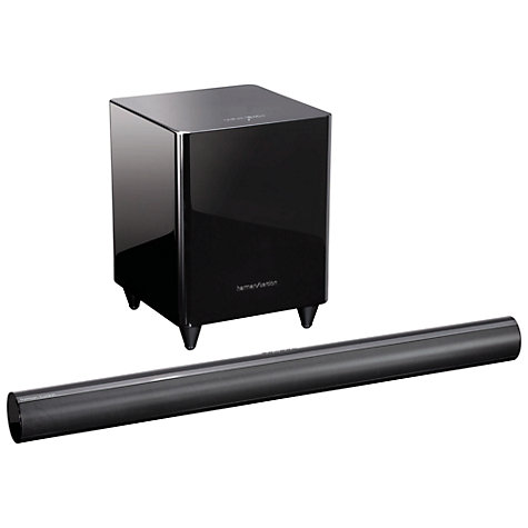 Buy Harman Kardon SB30 5.1 Sound Bar with Wireless Subwoofer Online at johnlewis.com