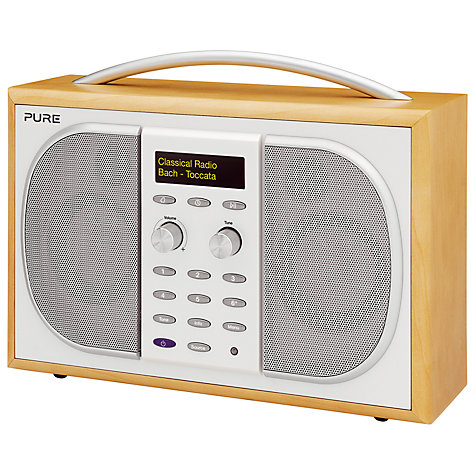 Buy Pure Evoke 2S DAB Radio, Maple Online at johnlewis.com