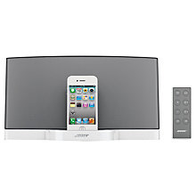 Buy Bose® SoundDock® digital music system, Limited Edition, White Online at johnlewis.com
