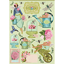 Buy Tilda Cut Out A4 Garden Sheets, Pack of 4, Multi Online at johnlewis.com