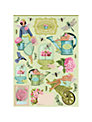 Tilda Cut Out A4 Garden Sheets, Pack of 4, Multi