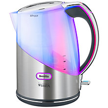 Buy Breville VKJ595 Kettle, Brushed Stainless Steel Online at johnlewis.com