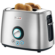 Buy Breville VTT363 2-Slice Toaster, Brushed Stainless Steel Online at johnlewis.com