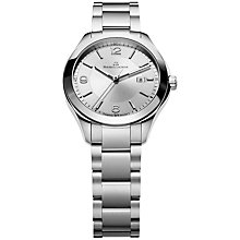 Buy Maurice Lacroix MI1014-SS002-130 Women's Miros Bracelet Watch, Silver Online at johnlewis.com