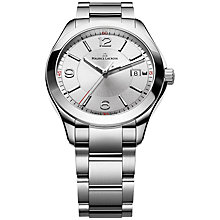Buy Maurice Lacroix MI1018-SS002-130 Men's Miros Bracelet Watch, Silver Online at johnlewis.com