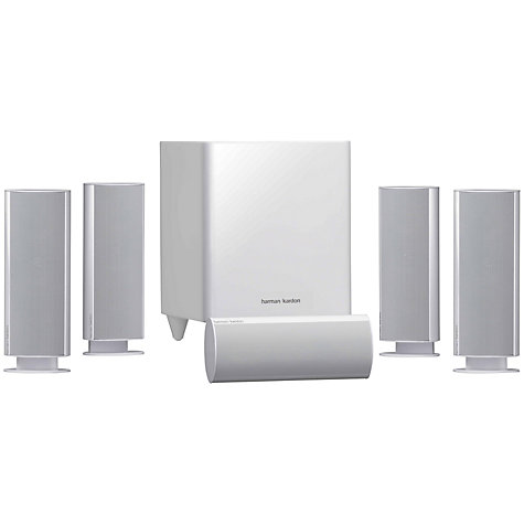 Buy Harman Kardon HKTS 16WQ 5.1 Home Cinema Speakers Online at johnlewis.com
