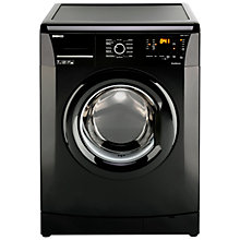 Buy Beko WMB71231B Washing Machine, 7kg Load, A+ Energy Rating, 1200rpm Spin, Black Online at johnlewis.com