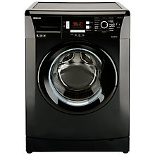 Buy Beko WMB81241LB Washing Machine, 8kg Load, A+ Energy Rating, 1200rpm Spin, Black Online at johnlewis.com