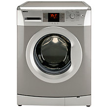 Buy Beko WMB81241LS Washing Machine, 8kg Load, A+ Energy Rating, 1200rpm Spin, Silver Online at johnlewis.com