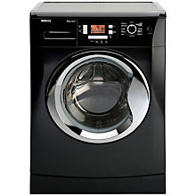 Buy Beko WMB91242LB Washing Machine, 9kg Load, A++ Energy Rating, 1200rpm Spin, Black Online at johnlewis.com