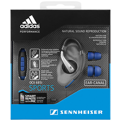 Buy Sennheiser/Adidas OCX 685i Sports Around-Ear Headphones with Remote/Mic Online at johnlewis.com