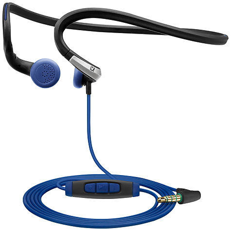 Buy Sennheiser/Adidas PMX 685i Sports In-Ear Neckband Headphones with Microphone, Black Online at johnlewis.com