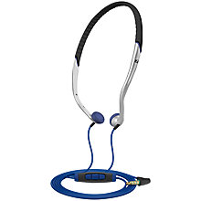Buy Sennheiser/Adidas PX 685i Sports In-Ear Headband Headphones with Microphone, Black Online at johnlewis.com