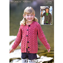 Buy Sirdar Hayfield Bonus Aran Leaflet, 2370 Online at johnlewis.com
