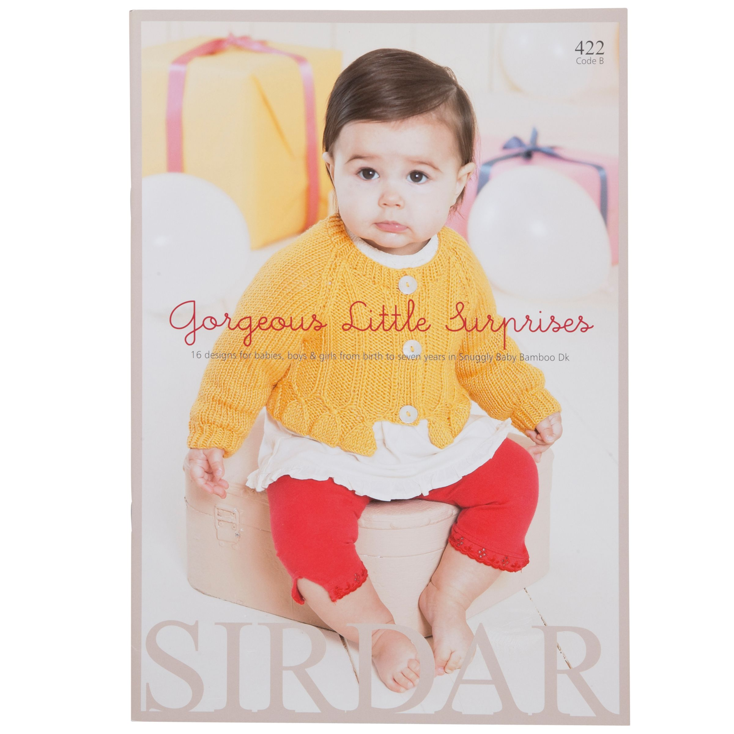 Sirdar Knitting Pattern Books Baby : Buy Sirdar Snuggly Baby Bamboo Gorgeous Little Surprises ...
