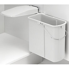 Buy Wesco Slim Kitchen Bin, 19L, Plastic Online at johnlewis.com