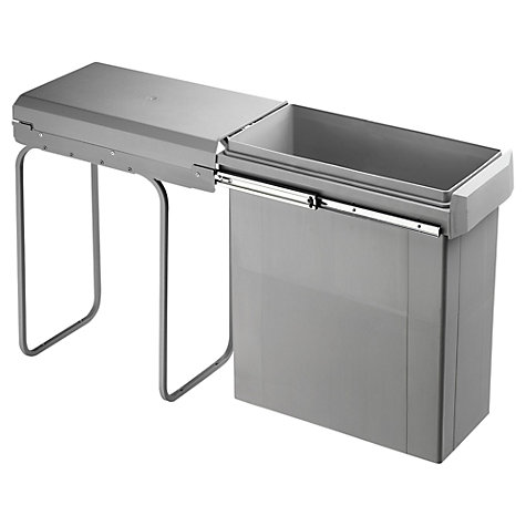 Buy Kes Single Pull-Out Wesco Kitchen Bin, 42L Online at johnlewis.com