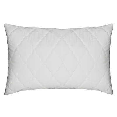 John Lewis Soft Touch Washable Standard Pillow Protector, Pair