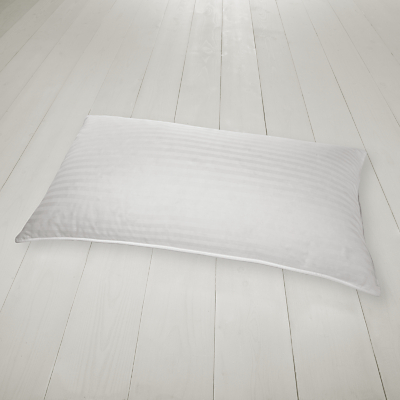 John Lewis Luxury Hungarian Goose Down Kingsize Pillow, Soft/Medium