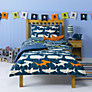 little home at John Lewis Walk The Plank Single Duvet Cover and Pillowcase Set, Multi