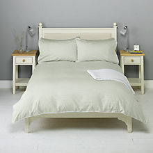 Buy John Lewis Bethany Standard Pillowcase, Eau De Nil Online at johnlewis.com