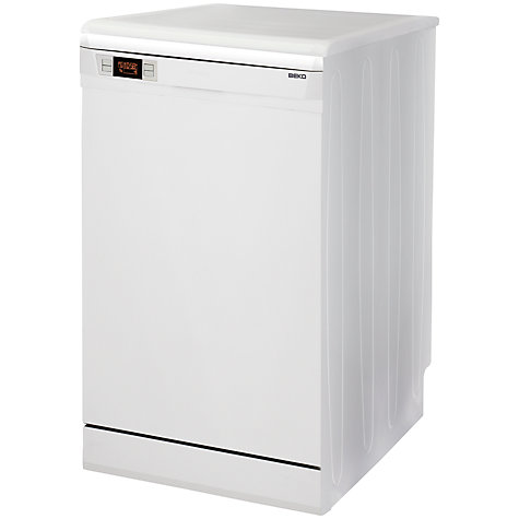 Buy Beko DSFN6830W Freestanding Dishwasher, White Online at johnlewis.com