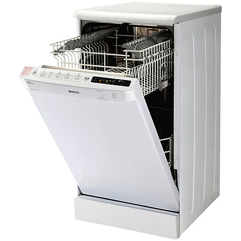 Buy Beko DSFS1531W Dishwasher, White Online at johnlewis.com