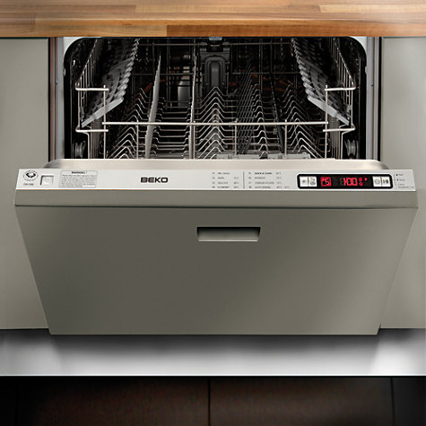 Buy Beko DW686 Integrated Dishwasher Online at johnlewis.com