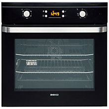 Buy Beko OIF21300B Single Electric Oven, Black Online at johnlewis.com