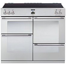 Buy Stoves Sterling 1000EI Induction Hob Range Cooker, Stainless Steel Online at johnlewis.com